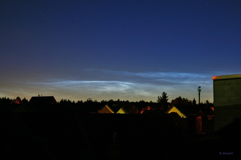 Leuchtende Nachtwolken am 16. Juli 2010