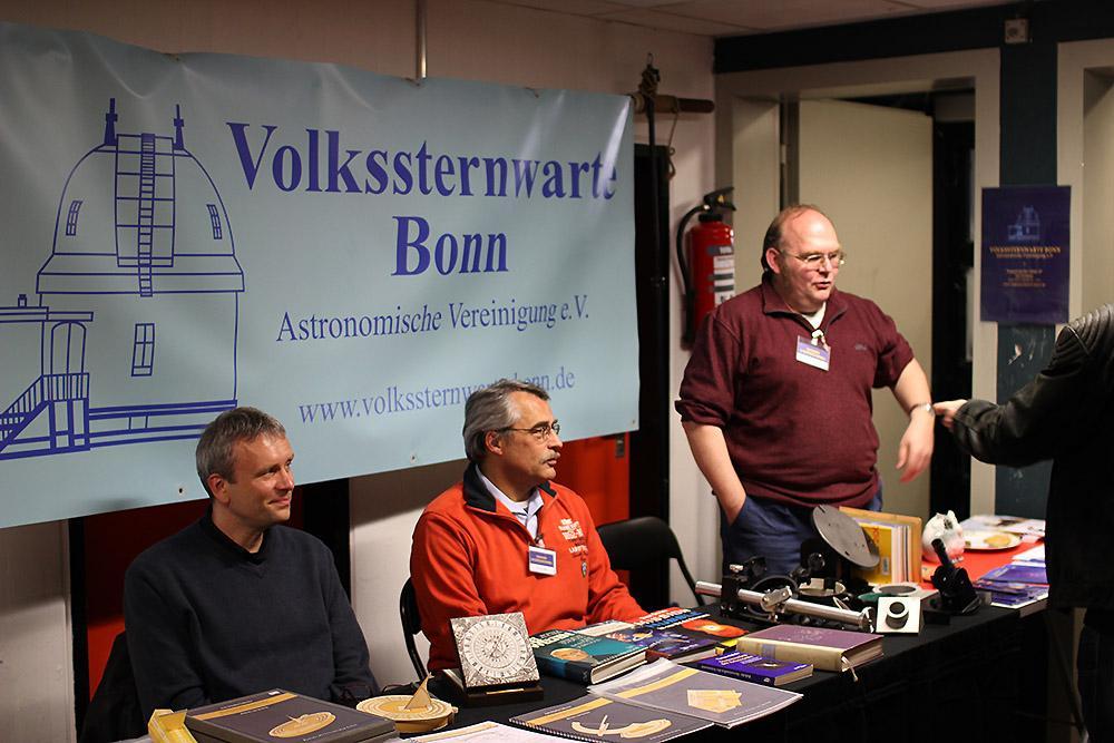 Jens Schmitz-Scherzer, Andreas Maul und Jörg Stegert, vlnr.