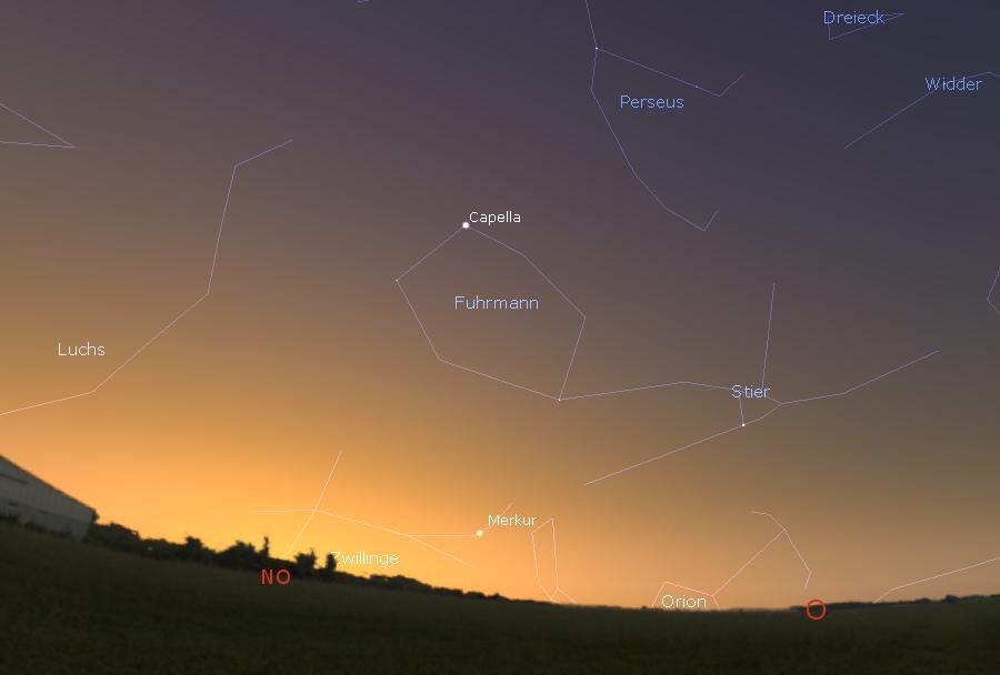 Merkur 15. Juli 2021